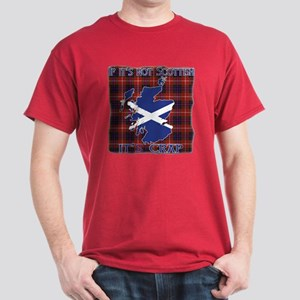 Not Scottish It's Crap #4 Dark T-Shirt