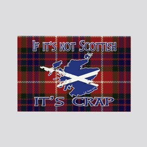 Not Scottish It's Crap #4 Rectangle Magnet