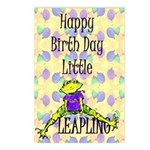 Leap Year Baby Birth Postcards (package Of 8)