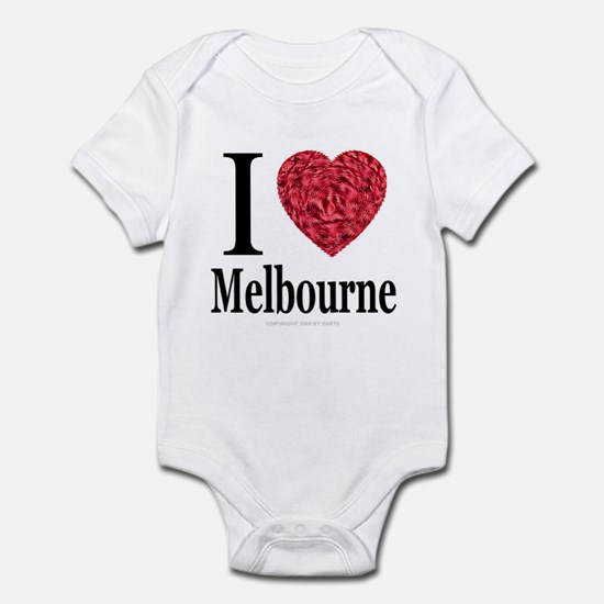 I Love Melbourne Infant Creeper
