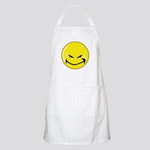 Smiley Face - Yellow Devil BBQ Apron