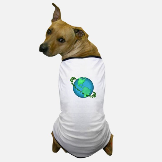 Save Our Planet Earth Dog T-Shirt