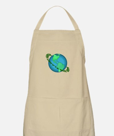 Save Our Planet Earth BBQ Apron