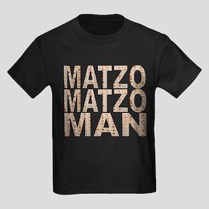 Matzo Matzo Man Kids Dark T-Shirt
