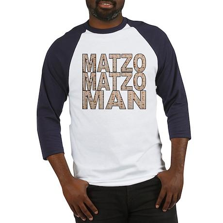 Matzo Matzo Man Baseball Jersey