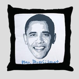 Mr. President Throw Pillow