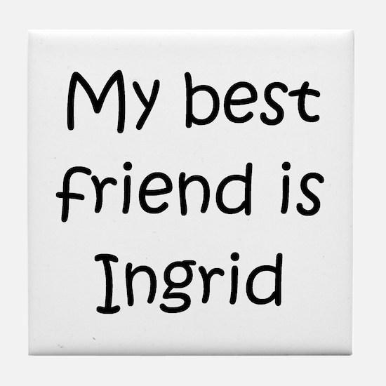 Unique Ingrid Tile Coaster