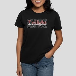 Edward on the Brain Women's Dark T-Shirt