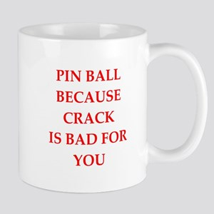Pin ball joke Mugs