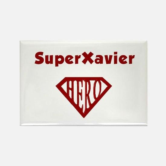 Super Hero Xavier Rectangle Magnet
