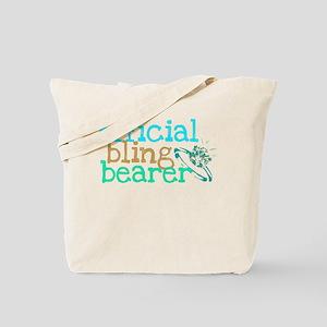 Official Bling Bearer Green Tote Bag