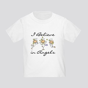 I Believe in Angels Toddler T-Shirt