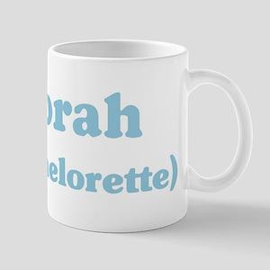 Deborah the bachelorette Mug