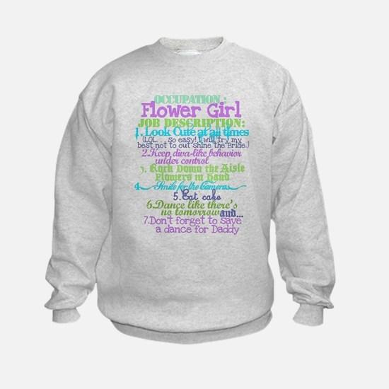 Occupation Flower Girl Lilac Sweatshirt