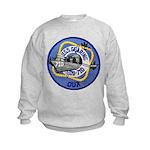 USS GEARING Kids Sweatshirt