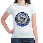 USS GEARING Jr. Ringer T-Shirt