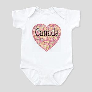 LOVE Canada Infant Creeper