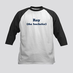 Roy the bachelor Kids Baseball Jersey