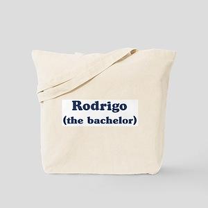Rodrigo the bachelor Tote Bag