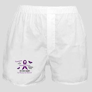 Alzheimers Awareness Month 2.3 Boxer Shorts