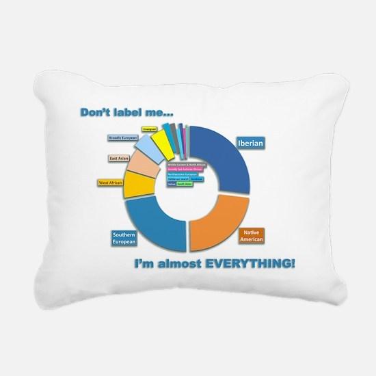 Cute Ancestry Rectangular Canvas Pillow