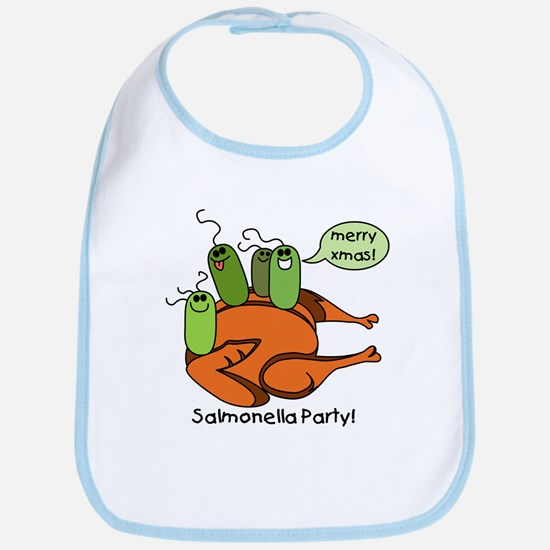 Salmonella Party Bib