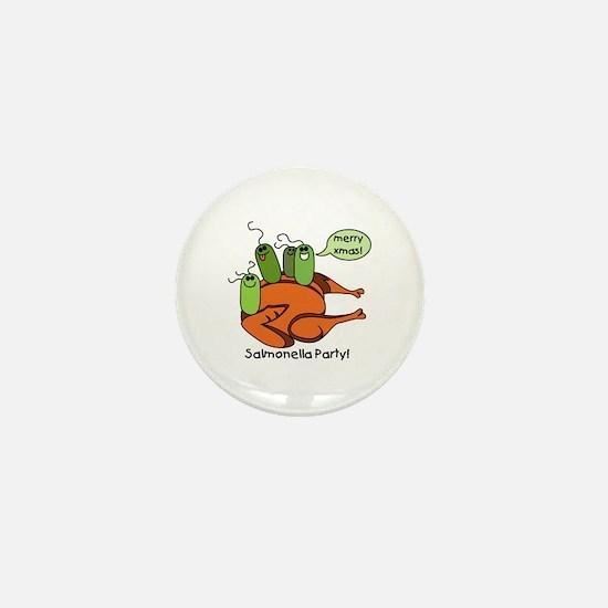 Salmonella Party Mini Button (10 pack)