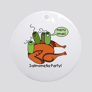 Salmonella Party Ornament (Round)