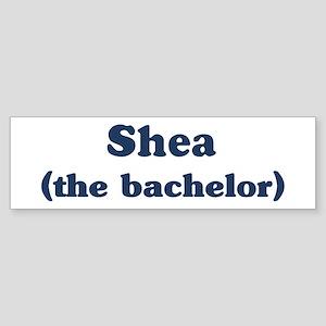 Shea the bachelor Bumper Sticker