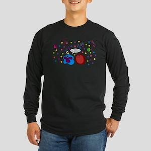Let's Cellebrate Long Sleeve Dark T-Shirt