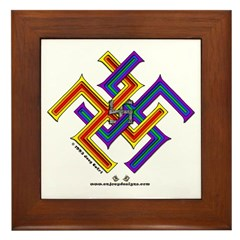 Moresque #6 - Framed Tile