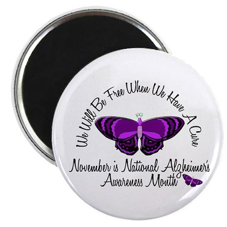 "Alzheimers Awareness Month 3.2 2.25"" Magnet (10 pa"