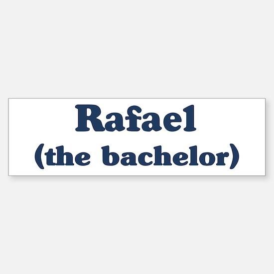 Rafael the bachelor Bumper Bumper Bumper Sticker