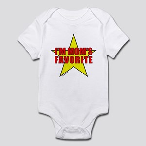 I'M MOM'S FAVORITE Infant Bodysuit
