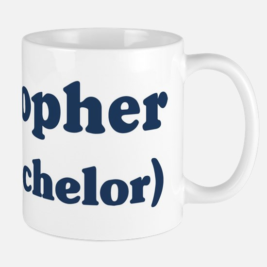 Kristopher the bachelor Mug