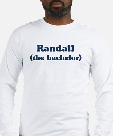Randall the bachelor Long Sleeve T-Shirt