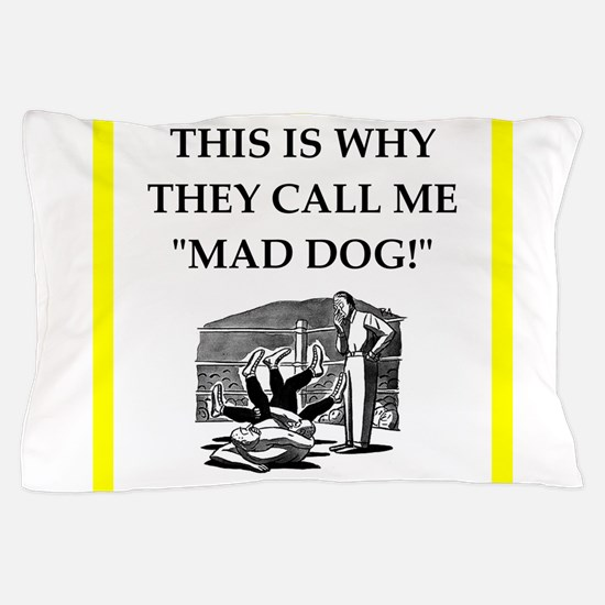Wrestling joke Pillow Case