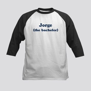 Jorge the bachelor Kids Baseball Jersey