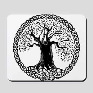 Celtic Tree of Life Mousepad
