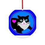 Cat Keepsake (Round)