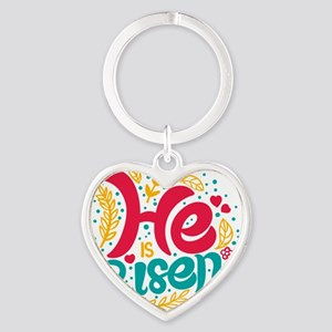he is risen Keychains