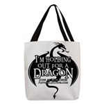 Holding Out For A Dragon Polyester Tote Bag