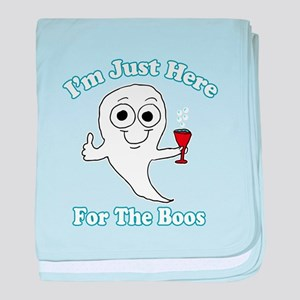 I'm just here for the boos baby blanket