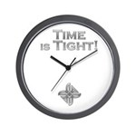 Instant Automatons Time Is Tight Wall Clock