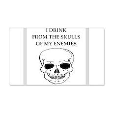 Skull joke Wall Decal