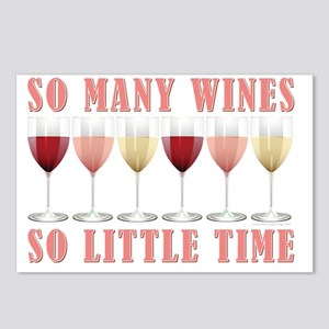 WINE THEME Postcards (Package of 8)