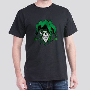 Irish Jester Skull T-Shirt