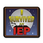 I Survived an IEP Mousepad