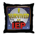 I Survived an IEP Throw Pillow