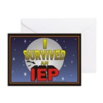 I Survived an IEP Greeting Cards (Pk of 10)